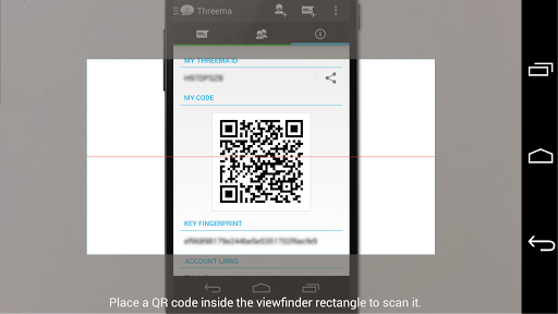 Threema QR Scanner Plugin APK screenshot 1