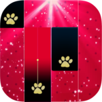 Piano Ladybug Noir Tiles for pc icon