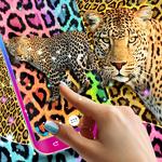 Cheetah leopard print live wallpaper icon