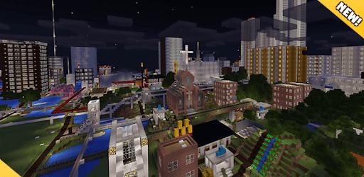 City maps for MCPE pc screenshot