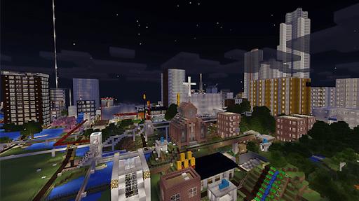 City maps for MCPE APK screenshot 1