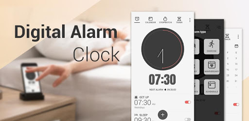 Digital Alarm Clock - Bedside Clock, Stopwatch pc screenshot