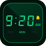 Digital Alarm Clock - Bedside Clock, Stopwatch for pc icon