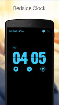 Digital Alarm Clock - Bedside Clock, Stopwatch APK screenshot 1