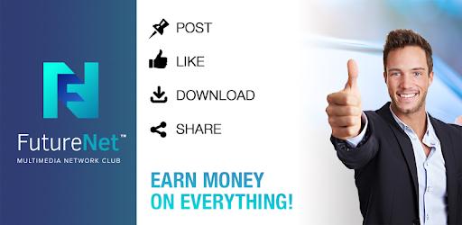 FutureNet your social app pc screenshot