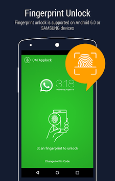 AppLock - Fingerprint Unlock APK screenshot 1