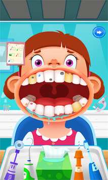 Little Lovely Dentist APK screenshot 1