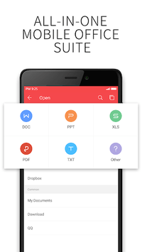 WPS Office - Word, Docs, PDF, Note, Slide & Sheet APK screenshot 1