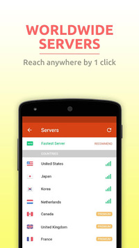 HOT VPN- Free・Unblock・Proxy APK screenshot 1