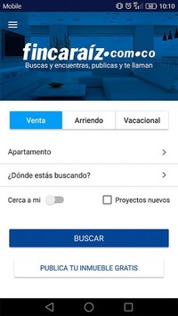 FincaRaiz - real estate APK screenshot 1