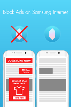 Crystal Adblock for Samsung APK screenshot 1