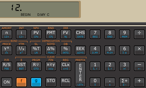 Touch Fin Calculator (free) APK screenshot 1