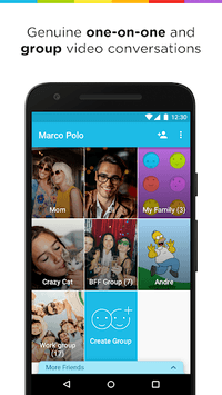 Marco Polo - Video Chat for Busy People APK screenshot 1