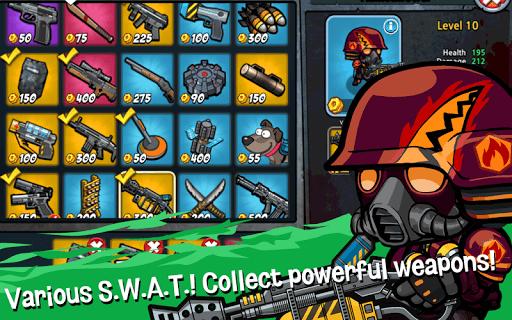 SWAT and Zombies - Defense & Battle APK screenshot 1