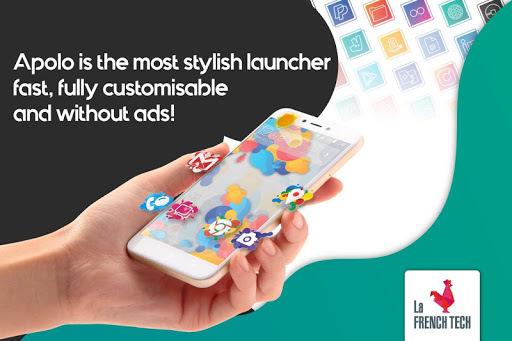 Apolo Launcher: Boost, theme, wallpaper, hide apps APK screenshot 1
