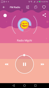 FM Radio - Live Indian Stations APK screenshot 1