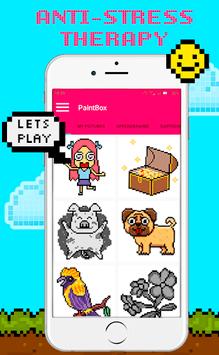 PaintBox - Sandbox Number Coloring Color by Number APK screenshot 1