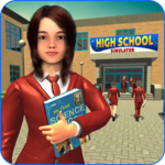 High School Girl Simulator: Virtual Life Game 3D for pc icon