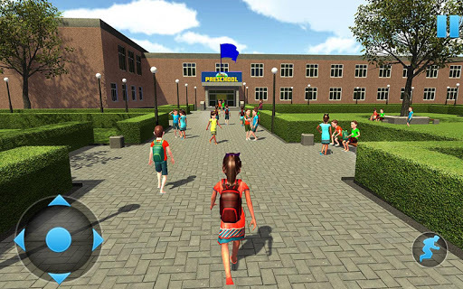 Preschool Simulator: Kids Learning Education Game APK screenshot 1