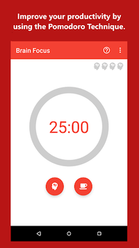 Brain Focus Productivity Timer APK screenshot 1
