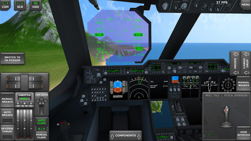 Turboprop Flight Simulator 3D APK screenshot 1