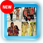 African Couple Dress Fashion icon