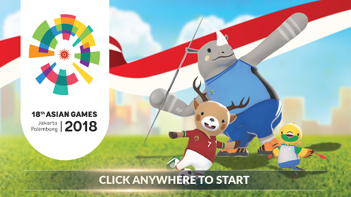 18th Asian Games 2018 Official Game APK screenshot 1