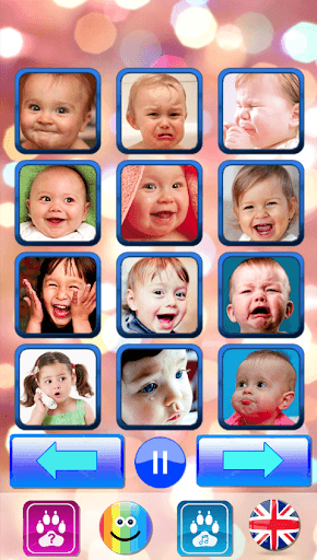 Sound for kids. Baby touch sound. Laugh & cry APK screenshot 1