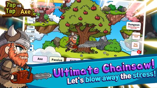 Tap Tap Axe - Timberman Champ APK screenshot 1