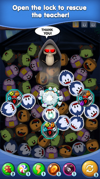 Monster Puzzle – Spookiz Link Quest APK screenshot 1