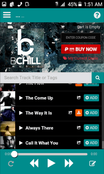 Rap Beats & Instrumental Beats APK screenshot 1