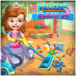 Princess Sofia Cleaning Home icon