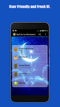 Mp3 Al Qur'an Mohammed Taha Al Junaid APK screenshot 1