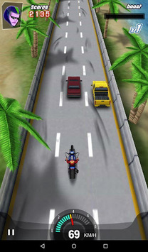 Moto Racing 3D Game APK screenshot 1