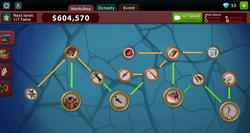 Crafting Idle Clicker APK screenshot 1