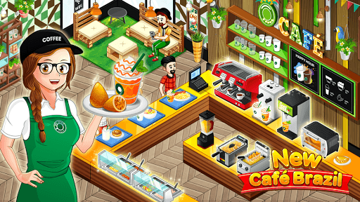 Cafe Panic: Cooking Restaurant APK screenshot 1