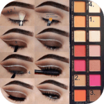 Eye makeup tutorial icon