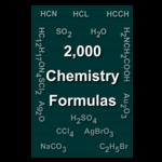 Chemistry formulas icon