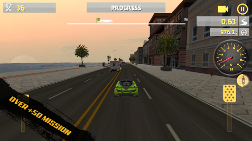 City Racing Traffic Racer APK screenshot 1