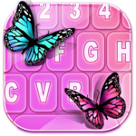 Color Butterfly Image Keyboard FOR PC