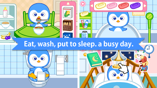 Baby Care : Poky (Penguin) APK screenshot 1