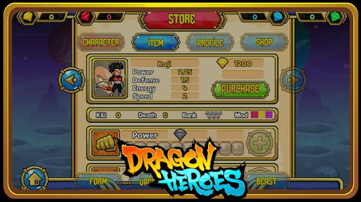 Dragon Heroes - Arena Online APK screenshot 1