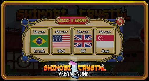 Shinobi Crystal - Arena Online APK screenshot 1