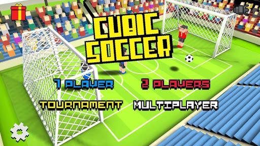 Cubic Soccer 3D APK screenshot 1