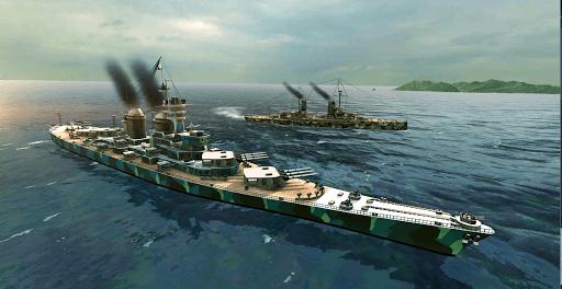 Battle of Warships: Naval Blitz APK screenshot 1