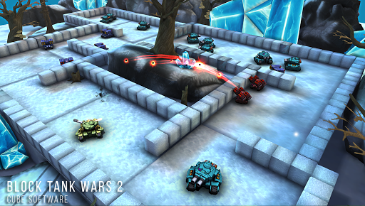 Block Tank Wars 2 APK screenshot 1