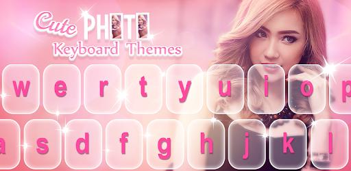 Cute Photo Keyboard Themes pc screenshot