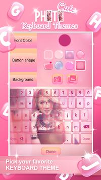 Cute Photo Keyboard Themes APK screenshot 1