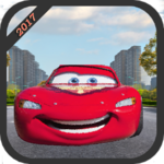 Extreme Lightning McQueen Racing APK icon