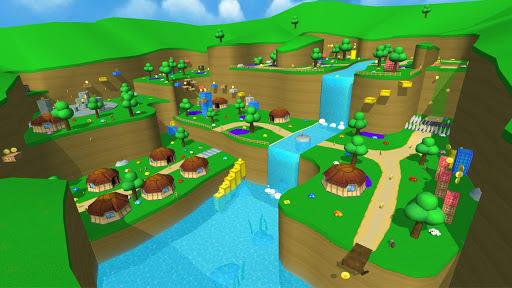 [3D Platformer] Super Bear Adventure APK screenshot 1